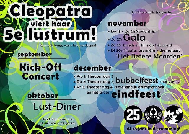 cleo_lustrum_poster_Petra_van_Berkum