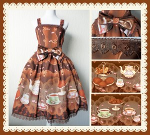The Dutch Sweet Tea dress made and designed by me